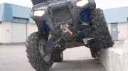 Lift kits and skid plates